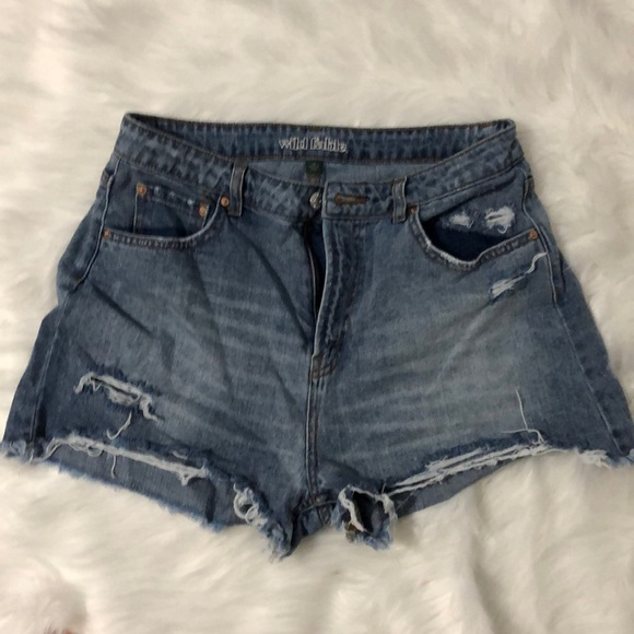 Wild fable size 12 high rise shorts
